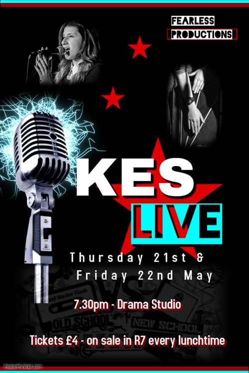 KES LIVE POSTER