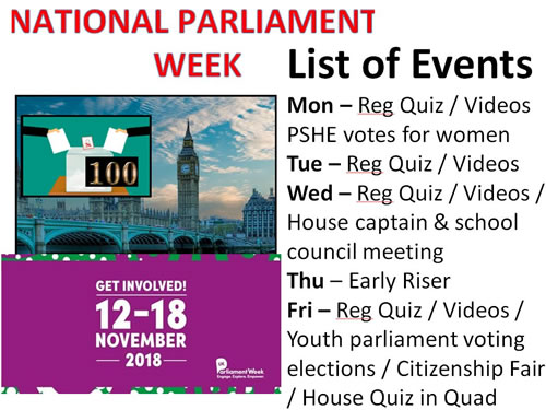 Parliament Week 2