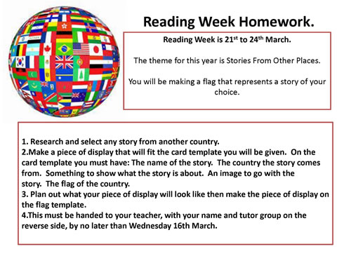 Reading Week Homework500